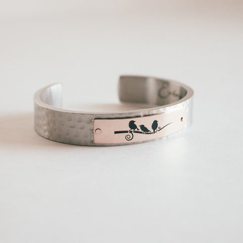 three little birds cuff