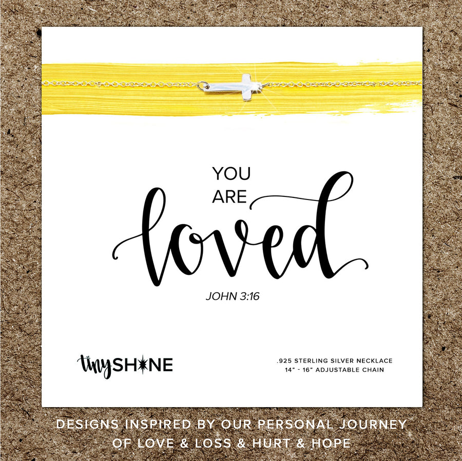 you are loved necklace ~ youth