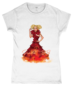 Scarlett BoBo - Clown On Fire Ladies T-Shirt