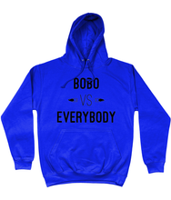 Load image into Gallery viewer, Scarlett BoBo - BoBo Vs Everybody - Black Logo Hoodie