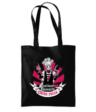 Load image into Gallery viewer, Scarlett BoBo - Circus BoBo x Notanprietx Tote Bag