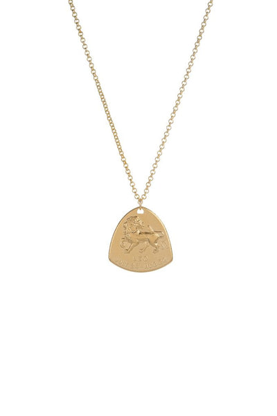 CAM Astrology Shield Medallion Necklace