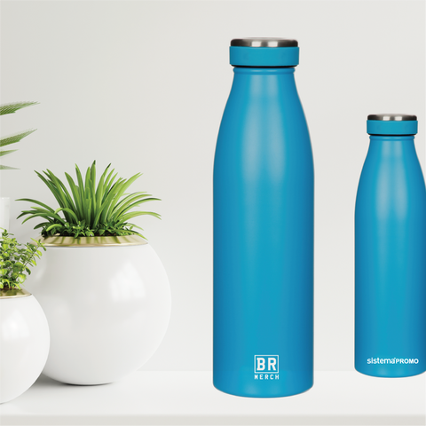 BR Merch 500ml Stainless Steel Sistema Bottle