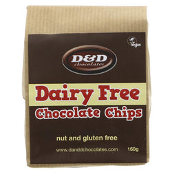 D & D Chocolates Dairy Free Chocolate Chips
