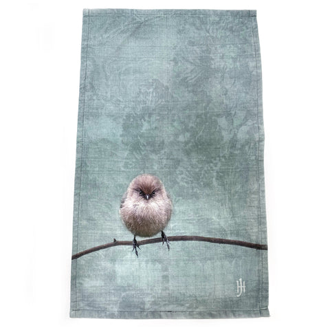 AGNES THE BUSHTIT Tea Towel