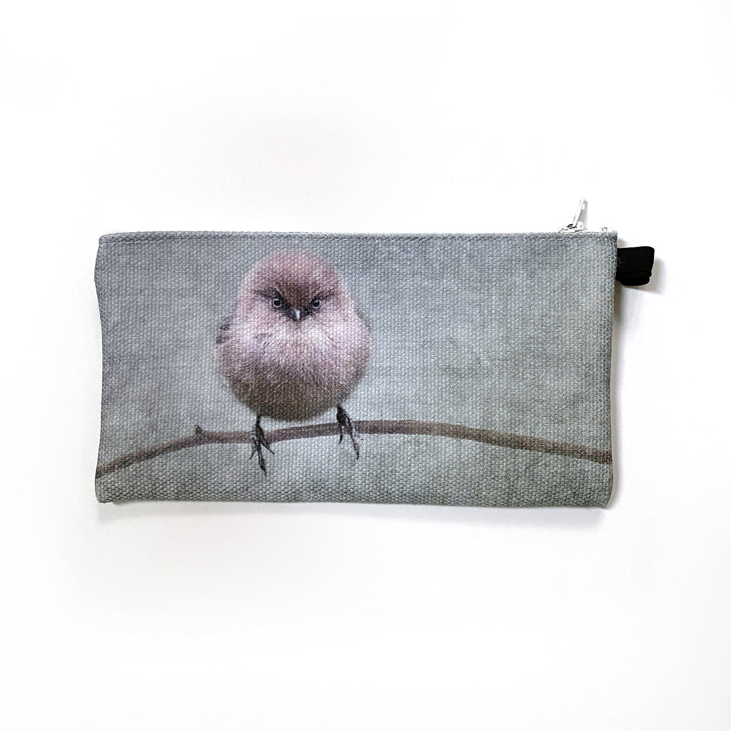 Two Determined Bushtit Pouches for Maureen