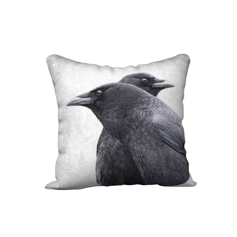 BOTH SIDES NOW — Crow Cushion Cover
