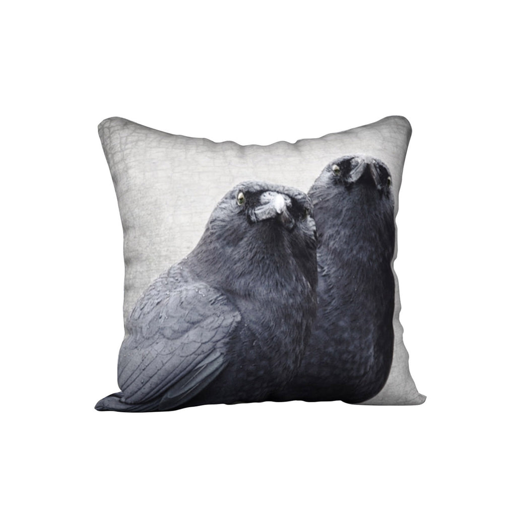 CROW COUPLE — Crow Cushion Cover