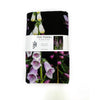 FOXGLOVE BORDER Tea Towel
