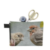 Love Bird House Finches Zippered Carry-All With Wrist Strap - NEW SALE PRICE