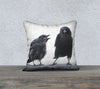 ART OF PARENTING — Crow Cushion Cover