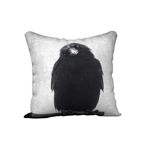 PHILOSOPHER CROW — Crow Cushion Cover