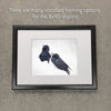 RAVEN CHOIR - Fine Art Print, Raven Portrait Series