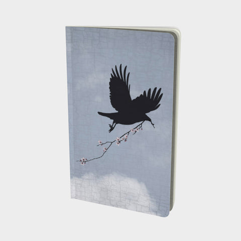 SKY MESSENGER - Small Notebook by June Hunter