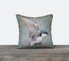 Tree Swallow Wings — Bird Cushion Cover