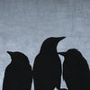TRIO - Fine Art Print, Blue Crow Series