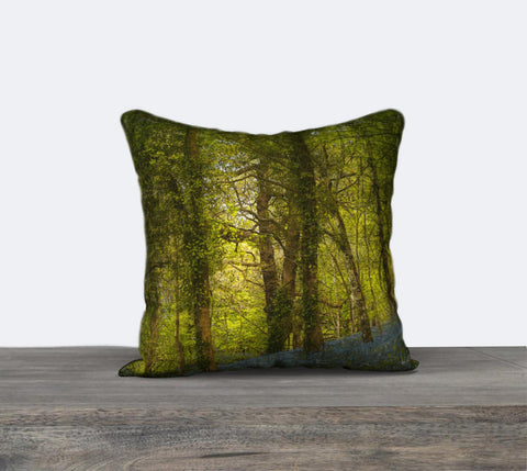 Bluebell Woods 3 Canvas Cushion Cover