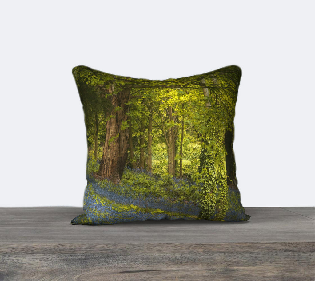 Bluebell Woods 5 Canvas Cushion Cover