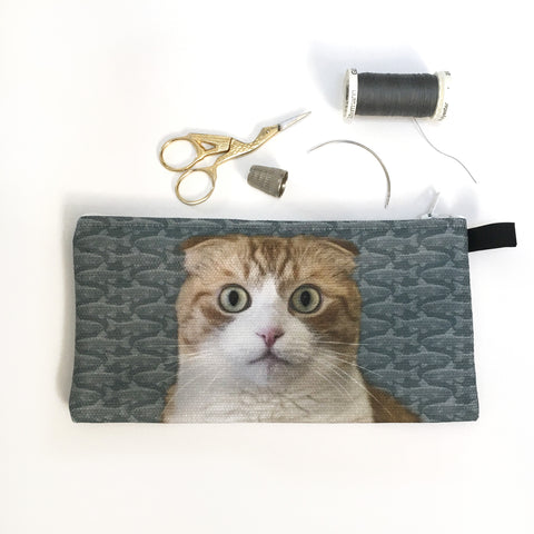 Edgar Dreaming of Fish Pencil Case/Organizer