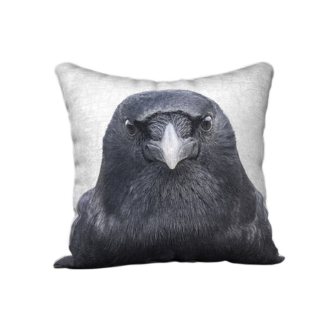 Eye to Eye -  Crow Cushion Cover