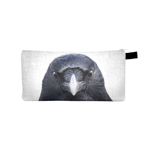 Eye to Eye Crow Pencil Case/Organizer