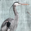 Blue Heron Canvas Cushion Cover