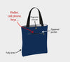 Robin Thinking of Home Tote Bag/Over-Sized Handbag - NEW SALE PRICE