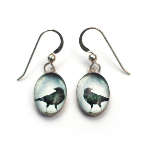 LOOKING BACK - Oval Earrings, Nature Jewelry