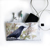 Spring Crow Pencil Case/Organizer