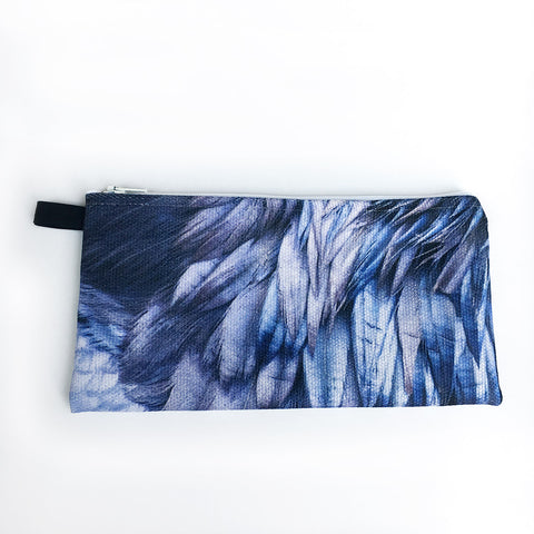 Raven Feathers Pencil Case/Organizer