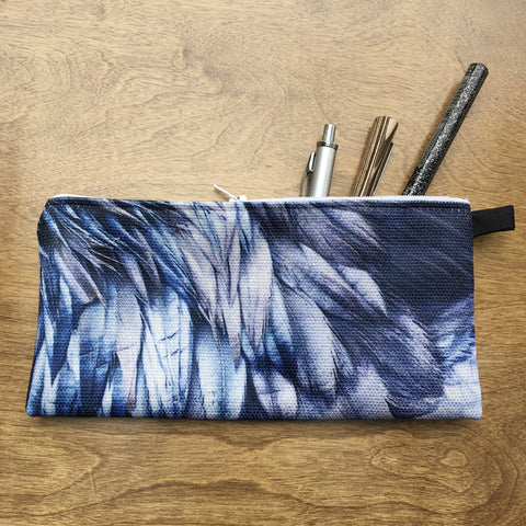 Raven Feathers Pencil Case