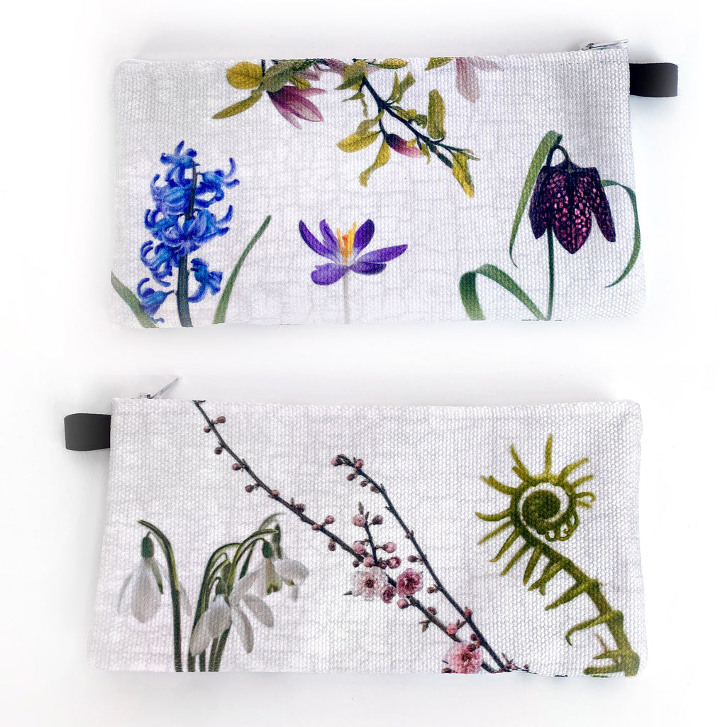 Spring Flowers Pencil Case/Organizer
