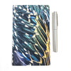 SPECTACULAR STARLING FEATHERS - Small Notebook by June Hunter