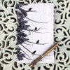 STRATA RAVENS - Small Acid-free Notebook by June Hunter