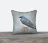 Tree Swallow Stands — Bird Cushion Cover