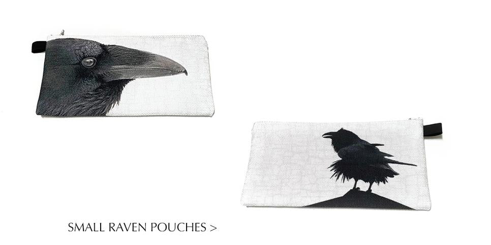 Now available to pre-order - new silk scarves with crow design by June Hunter