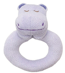 Cuddly animal ring rattles