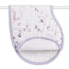 Organic cotton burpy bib