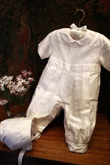 Heirloom Christening romper