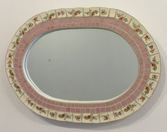 Mosaic Oval Mirror