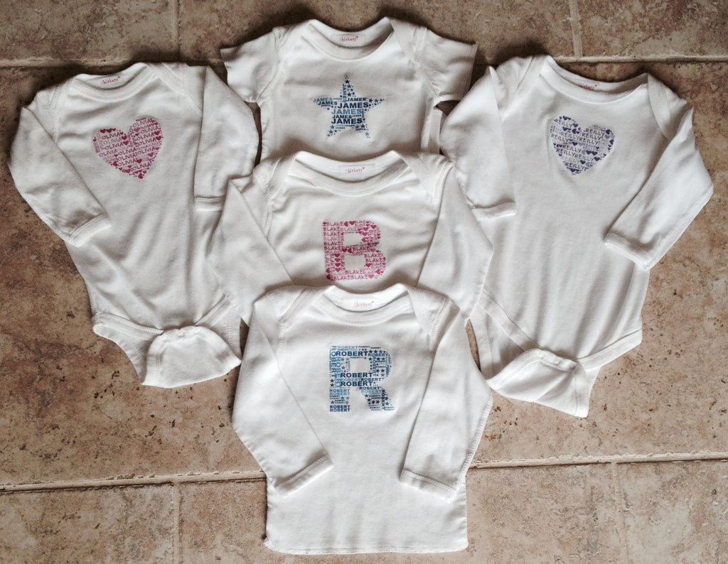 Cupcake Personalized Onesies Or T Shirts