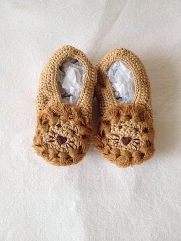 Lion booties
