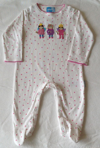 Fairy footie romper