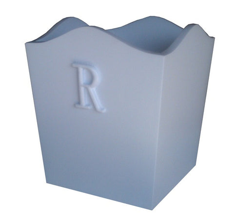 Letter waste basket
