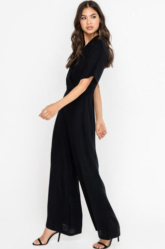 elegant black jumpsuit
