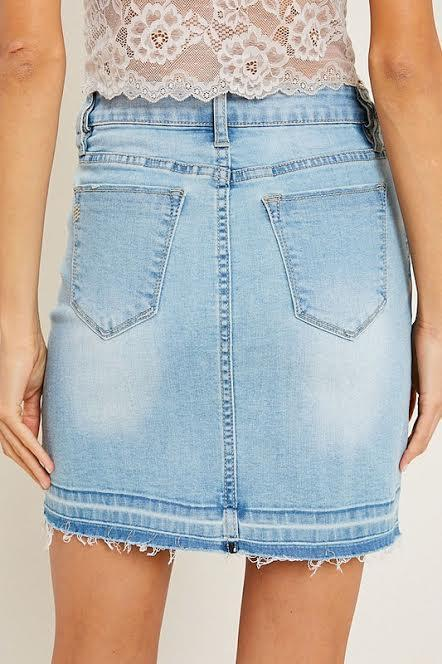 Teen Spirit Denim Skirt