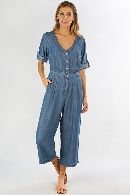 Jump Into Things Tencel Jumpsuit