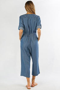 Jump Into Things Tencel Jumpsuit Jumpsuits Lovestitch