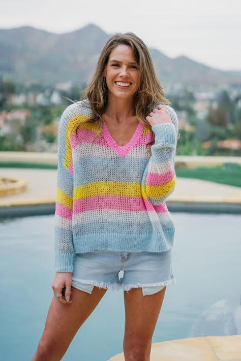 Unicorn Crop Sweater
