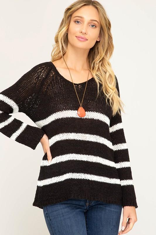 Stripe Day Sweater